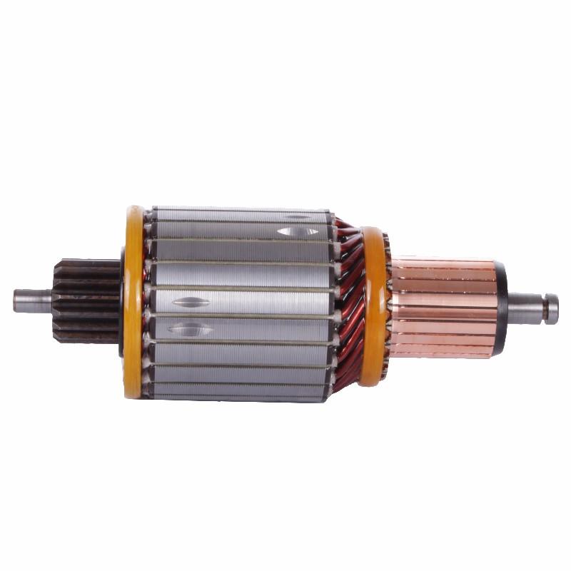 Induzido Partida MBB 712 1215 1618 - Sistema BOSCH 24V (ARI098) - INDUZIDO - ARIELO - PE�A  - Cod. SKU: 32463