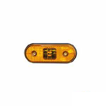 Lanterna Lateral Retangular - Com Led - Amarelo (AS0521900)