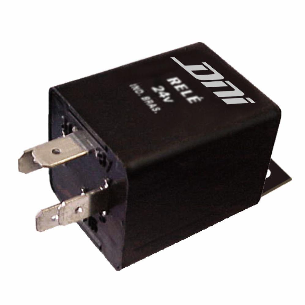 Rel� do Temporizador de Luz do Toillet 24V 04 Terminais (DNI0304) - REL� AUXILIAR - DNI - PE�A  - Cod. SKU: 1671