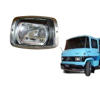 Farol Principal MBB 608 1985 até 1989 - H4 - Com Soquete - L