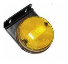 Lanterna Lateral - Com Suporte Amarela (GF012810AM)