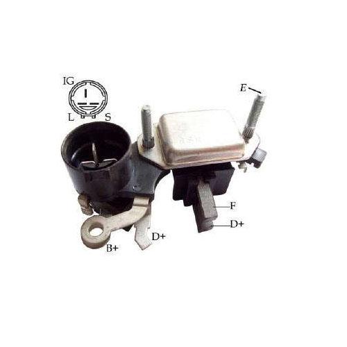Regulador Alternador TROPPER 2.8 - Sistema HITACHI (IK5250) - REGULADOR DE VOLTAGEM - IKRO - PE�A  - Cod. SKU: 13519