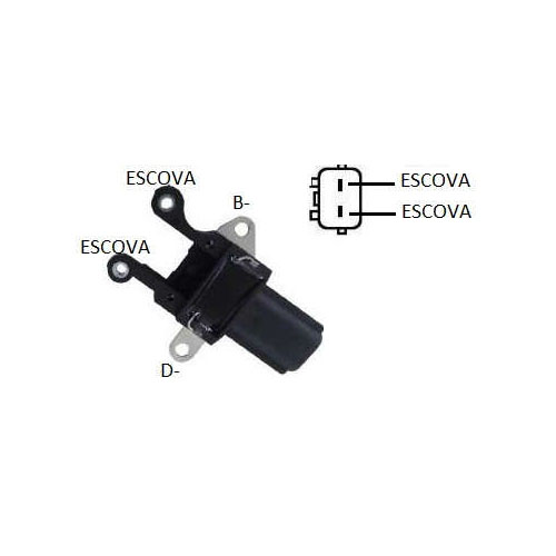 Regulador Alternador DENSO - CAPACITOR (IK5314)