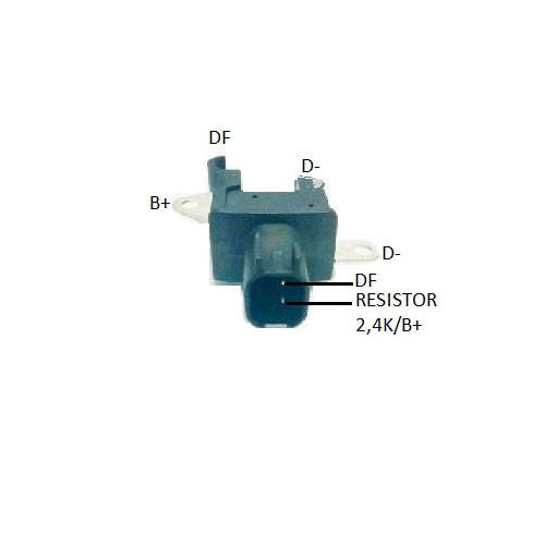 Regulador Alternador DENSO - CAPACITOR (IK5315)