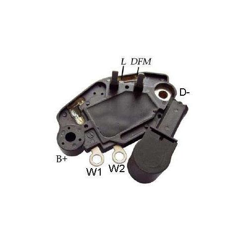 Regulador Alternador CITROEN FIAT PEUGEOT - Sistema VALEO (IK5419) - REGULADOR DE VOLTAGEM - IKRO - PE�A  - Cod. SKU: 1778