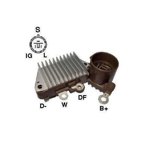 Regulador Alternador CIVIC - DSO (IK5833) - REGULADOR DE VOLTAGEM - IKRO - PE�A  - Cod. SKU: 12109