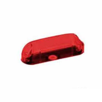 Lente para Lanterna delinitadora 1064 - Vermelho (S064PSVM)