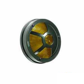 Lanterna Estribo Soquete In Terminais Aro Preto (S11173AM)
