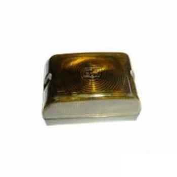 Lanterna Lateral Lente Aredondada Amarel (S1118RAM)