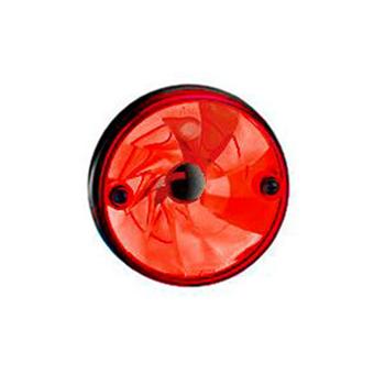 Lanterna Lateral Implemento Acrilica - Vermelho (S1146ACRVM)