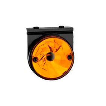 Lanterna Lateral - Com Suporte Implemento - Amarelo (S1149AC