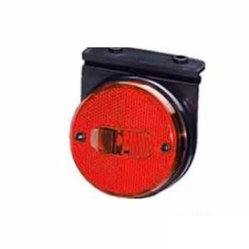 Lanterna Lateral - Com Suporte Flexivel - Vermelho (S1165PSV