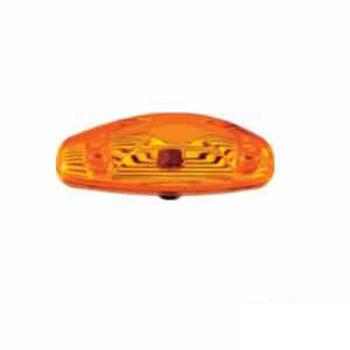 Lanterna Lateral Moderna Onibus - Amarelo (S1199CAM)