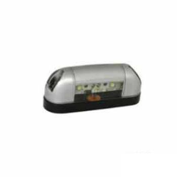 Lanterna Acrilica para Placa Com LED Bivolt (S2017)