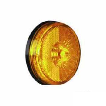 Lanterna Lateral Com LED - Amarelo 24V (S202924AM)