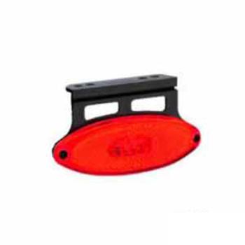 Lanterna Lateral de Posição LED - Vermelho 24V (S204224VM)