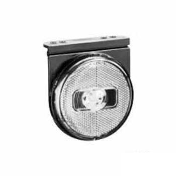 Lanterna Lateral Com LED 24V - Cristal (S206524CR)