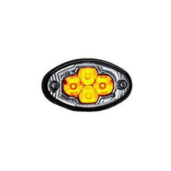 Lanterna Dianteira Direcional 4 LEDs - Amarelo (S209124)