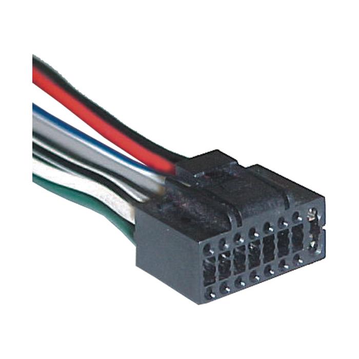 Conector R�dio KENWOOD (TC0807) - SOM - TC - PE�A  - Cod. SKU: 15037