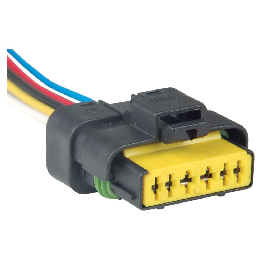 Conector Eletr�nico 06 Vias Sensor Borboleta PEUGEOT (TC1139) - 06 VIAS - TC - PE�A