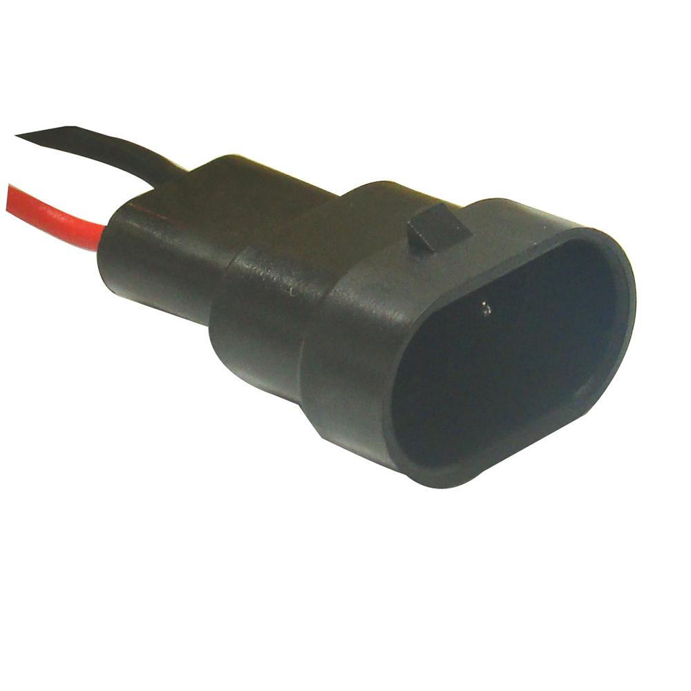 Conector Eletr�nico 02 Vias (TC2047) - 02 VIAS - TC - PE�A