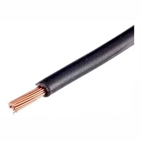 Fio Flexível 06,00mm - Preto - Metro (CS08PT)