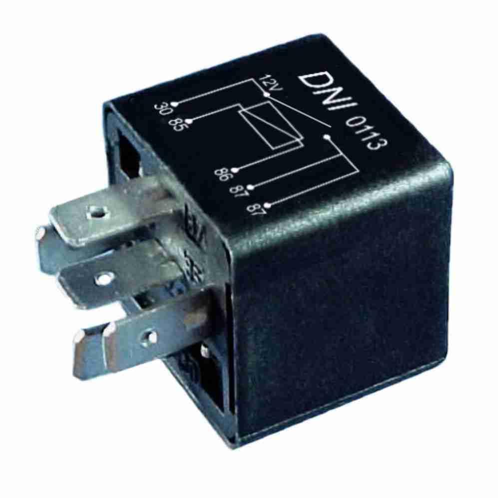 Relé Auxiliar 12V 05 Terminais 20 Amperes (DNI0113) - DNI -