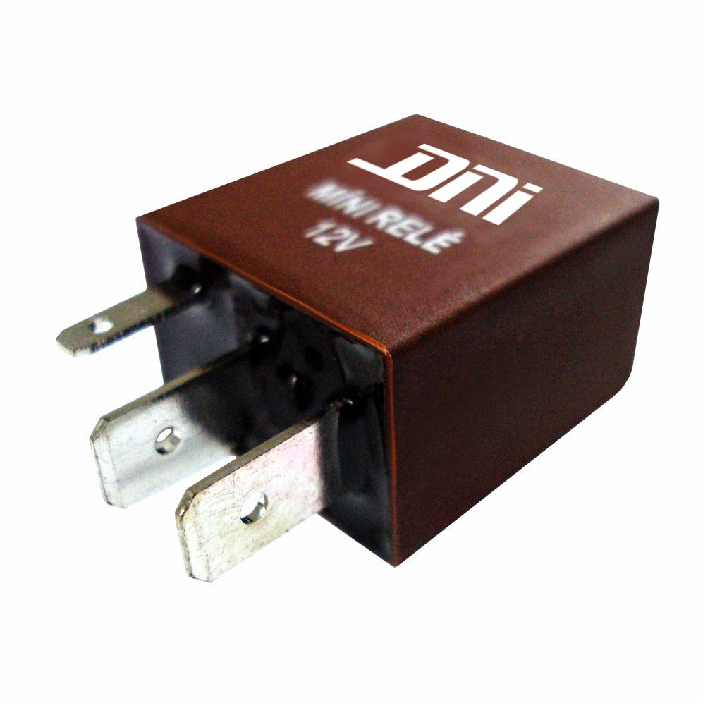 Relé Auxiliar Mini 12V 04 Terminais 30 Amperes (DNI0123) - D