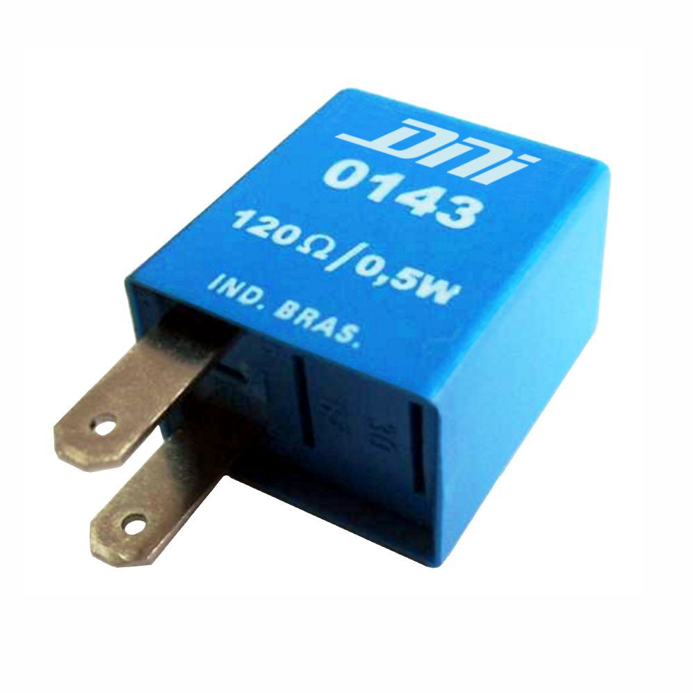 Relé de Porta Resistor CARGO 12V 02 Terminais  (DNI0143) - D