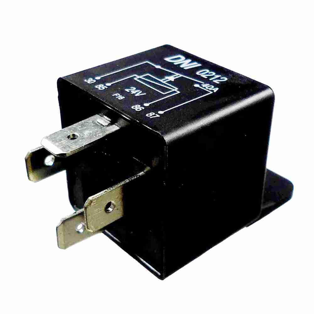 Relé Auxiliar 24V 04 Terminais 40 Amperes (DNI0212) - DNI -