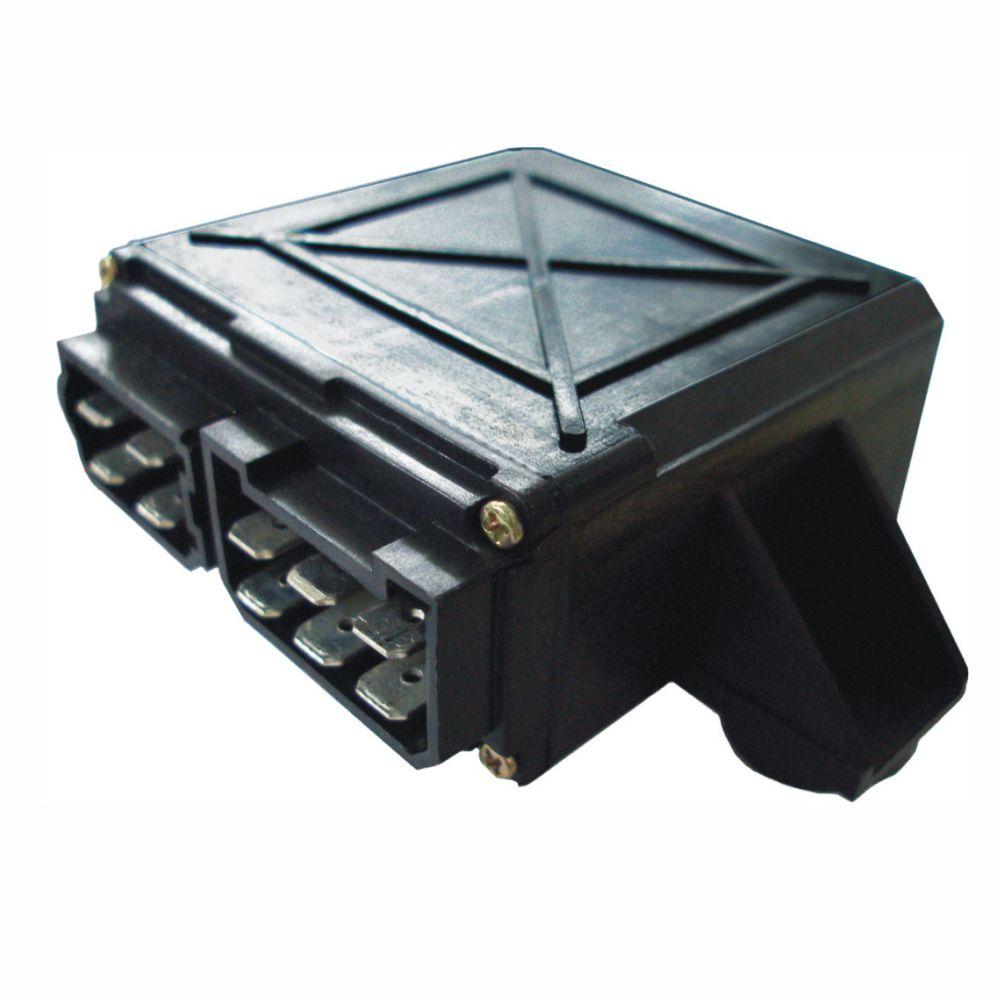 Relé de Pisca 12V 10 Terminais Negativo Soquete (DNI0840) -