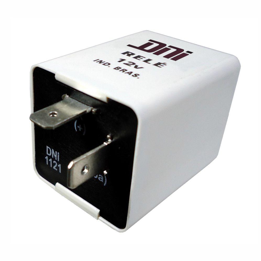 Relé de Pisca 12V 02 Terminais 120W Eletrônico (DNI1121) - D