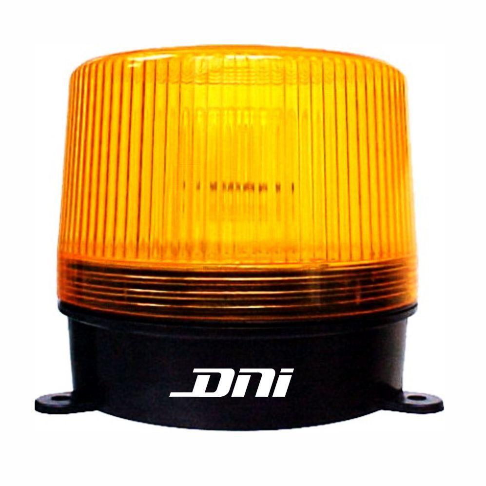Flash Advertência Amarelo - 24V (DNI4013) - DNI - PEÇA  - Co