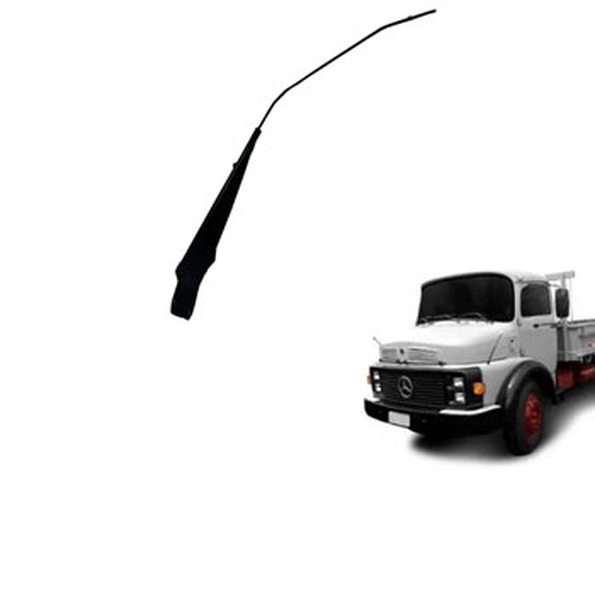 Braço Limpador MBB - 03 LIMPADORES - Modelo Curvo (G733) - G