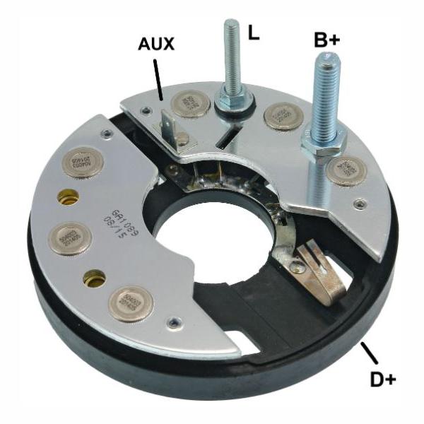 Placa Diodo ESCORT VERONA GOL PARATI LOGUS - 065 Amperes (GA
