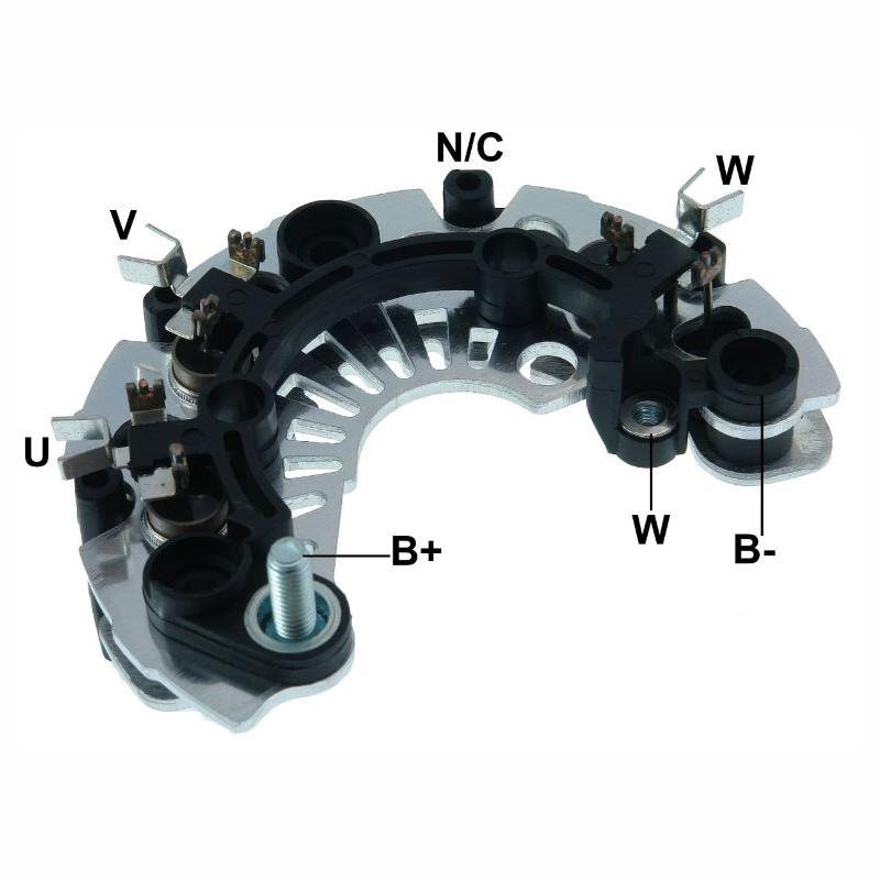 Placa Diodo ECOSPORT FIESTA FOCUS -  085 Amperes (GA1303)