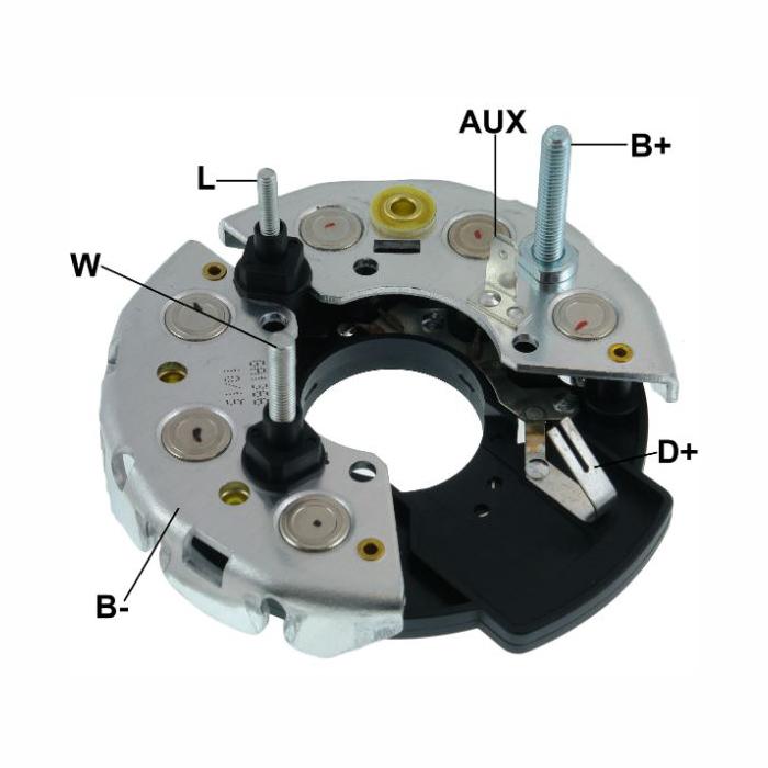 Placa Diodo MBB CASE AGRALE - 095 Amperes (GA1366) - GAUSS -