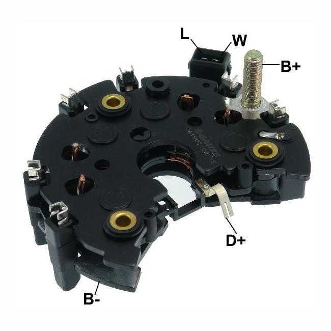 Placa Diodo GOLF JETTA PASSAT -  - 4 Fases (GA1667)
