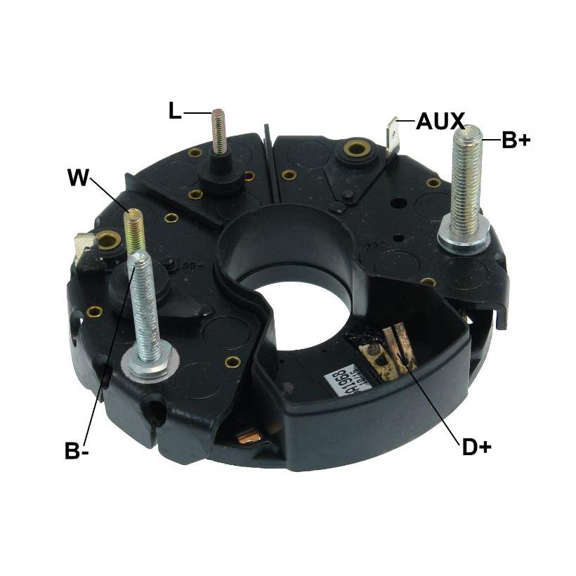 Placa Diodo SCANIA -  105 Amperes 24V (GA1968)