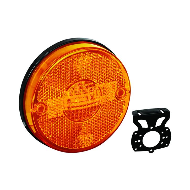 Lanterna Lateral - Com Suporte Amarela (GF012710AM)
