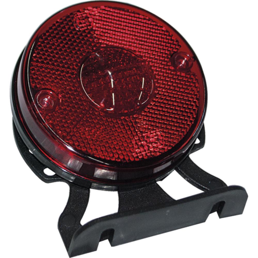 Lanterna Lateral - Com Suporte Vermelha (GF012710VM)