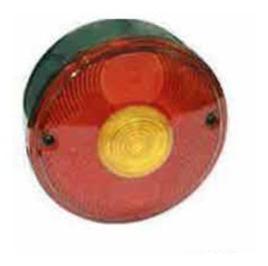 Lanterna Traseira - Com Vigia MBB -82 (GF0161)