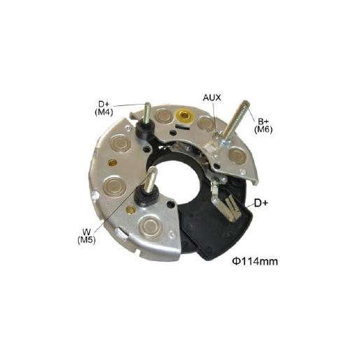 Placa Diodo MBB CASE AGRALE -  095 Amperes (IK3366) - IKRO