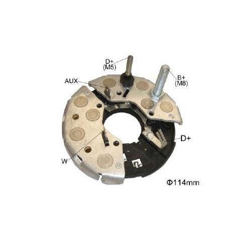 Placa Diodo IVECO CASE -  115 Amperes (IK3692) - IKRO  - Cod