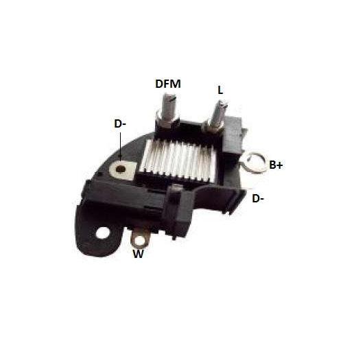 Regulador Voltagem CATERPILLAR - IKRO - PEÇA  - Cod. SKU: 33