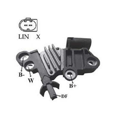 Regulador Alternador MBB CLS 320 CLS 350 CDI (IK5059) - IKRO