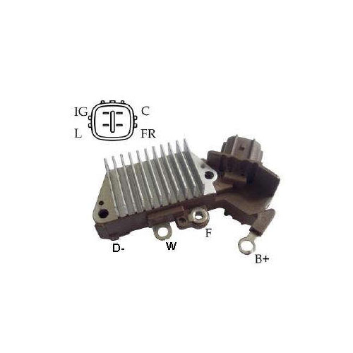 Regulador Alternador - 14V (IK5097)