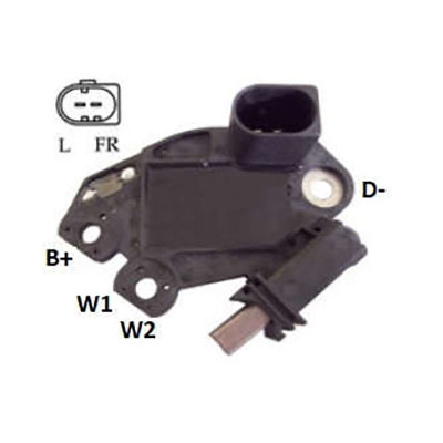 Regulador Alternador BMW 320 MBB E320 (IK5112) - IKRO - PEÇA