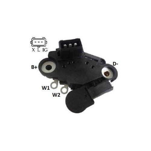 Regulador Alternador BMW 323 528I (IK5189) - IKRO - PEÇA  -
