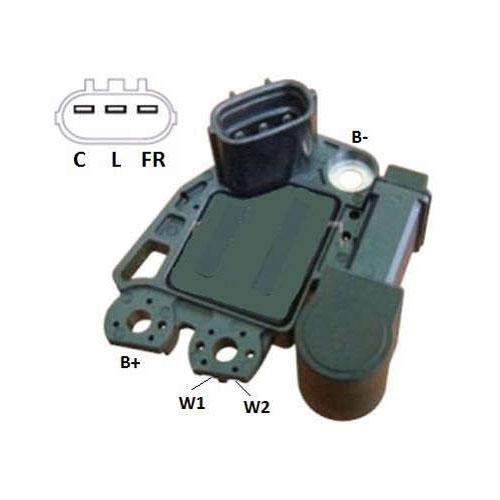 Regulador Alternador IX35 SANTA FE SORENTO (IK5200) - IKRO -